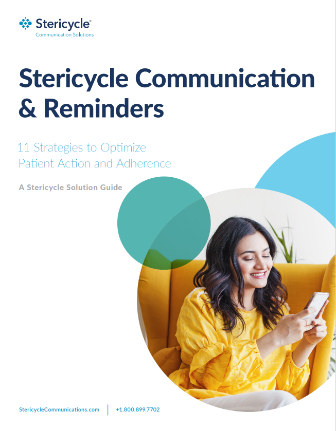 Stericycle Communication & Reminders Cover